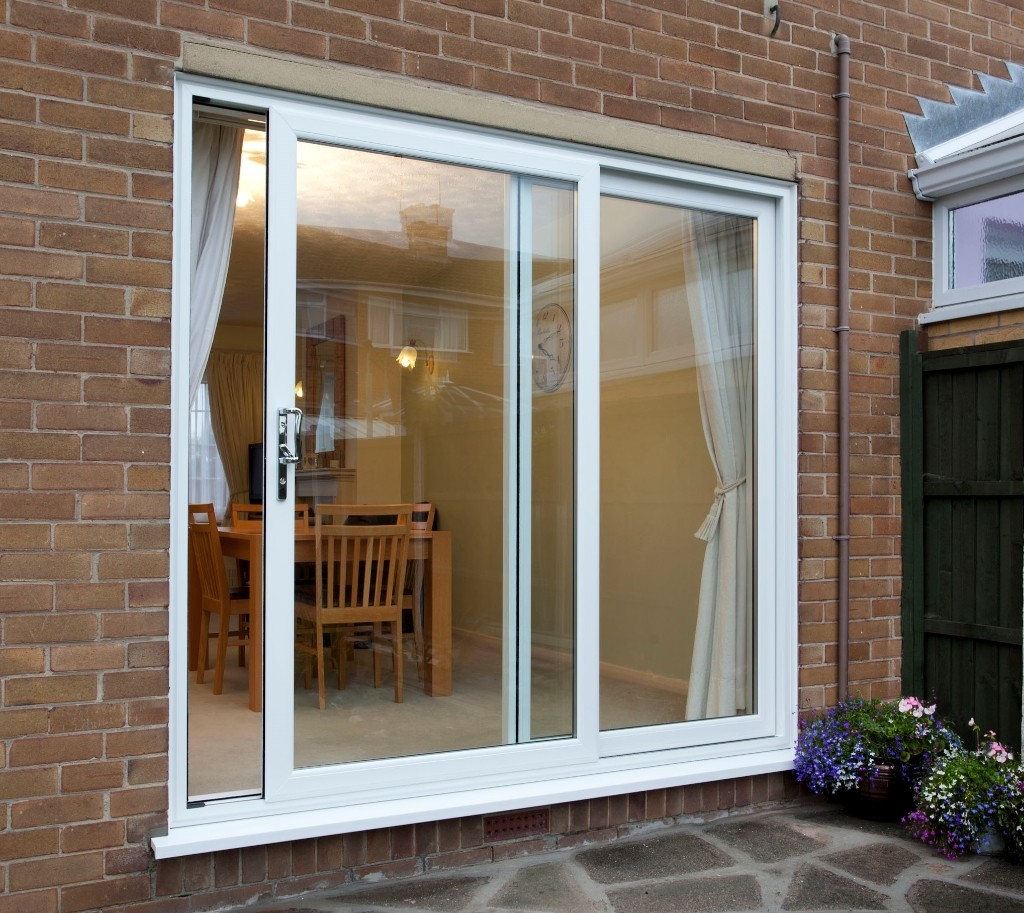 Sliding patio doors mister window for Patio doors with windows that open